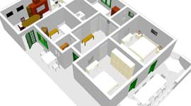 4Room-apartment-plan-icon